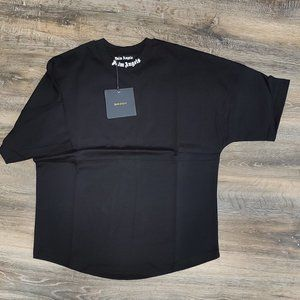 Palm Angels Black Oversize Fit Tee